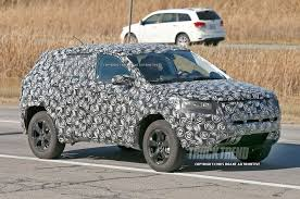 compass jeep 2010 spied jeep compass and patriot replacement due for 2018 photo