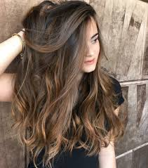 balayage dark brown long hairstyles hair u0026 beauty pinterest