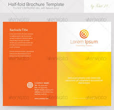 bi fold brochure template word hitecauto us