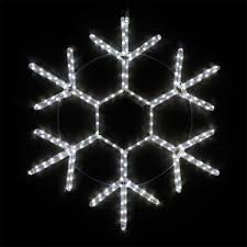 Led Snowflake Lights Outdoor by Snowflakes U0026 Stars 12