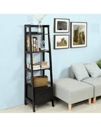 Ladder Shelf For Bathroom Don U0027t Miss This Deal Haotian Frg116 K Sch Black Storage Display