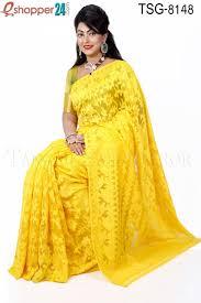 jamdani sharee tangail moslin silk jamdani saree tsg 8148 online shopping in