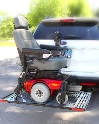 Hitch Flag Wheelchair Carrier Sl Patriotic Flag Power Lift Wheelchair
