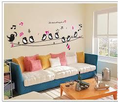 swallow music princess cartoon baby room decor removable wall
