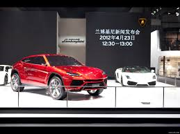 Lamborghini Urus Suv Lamborghini Urus Suv Concept At 2012 Beijing Auto Show Front