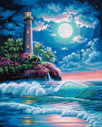 online buy wholesale lighthouse paintings from china lighthouse