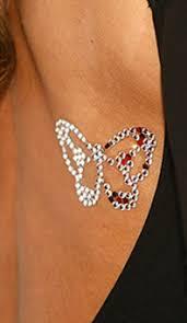 swarovski crystal body tattoos