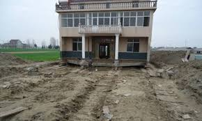 Chinese Home Unbelievable Chinese Man Moves His House After Government