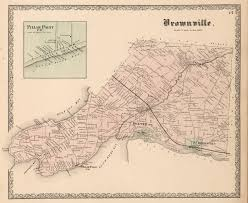 Utica New York Map by Brownville New York History From Childs 1890 Gazetteer New York