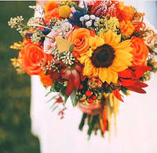 wedding flowers autumn flowers for fall wedding bouquets joshuagray co