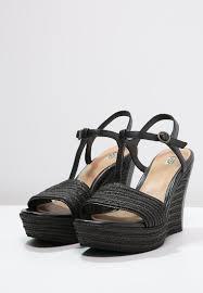 ugg platform sandals sale ugg cheap boots sale ugg fitchie wedge sandals black