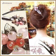 hairstyles with haedband accessories video littlemoon japanese hair accessories rakuten global market