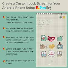Design Your Own Iphone Home Button Sticker by Learn How To Create Your Own Special Lock Screen For Any Phone