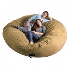 sofa beautiful giant bean bag chair fuf oversized memory foam
