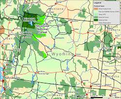 National Forest Map Colorado by File Shoshone Wy Map Png Wikimedia Commons