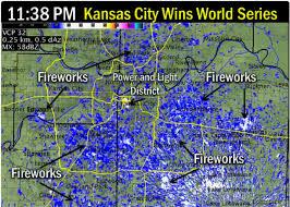 power and light district map royals world series win captured on kansas city radar