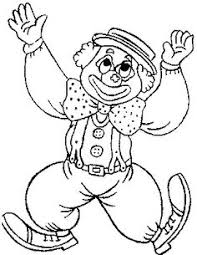 coloring pages kids print clowns circus coloring