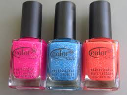 color club nail polish haul 3 a bottle