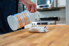 can you use to clean countertops how to clean butcher block countertops hgtv