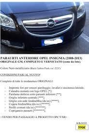 opel sede centrale opel insignia forum italia leggi argomento paraurti anteriore