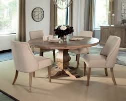 Ellery Round Crib by Florence Warm Natural Round Dining Table By Donny Osmond From