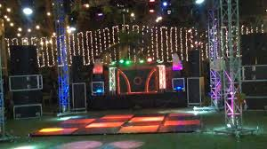 theme lighting best 4 side big dj setup on classic theme lighting setup