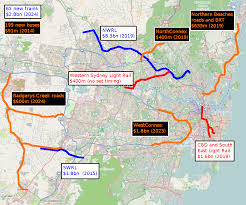 new light rail projects cbd and south east light rail transport sydney page 3