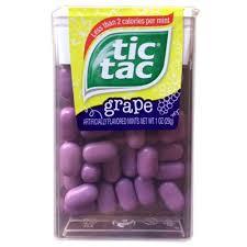 tic tac buy tic tac grape american food shop
