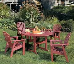 Resin Patio Table And Chairs Resin Poly Lumber Outdoor Patio Furniture Baltimore Md Backyard