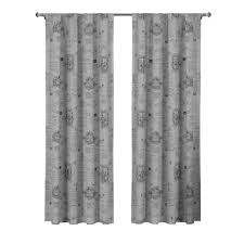 Black And White Buffalo Check Curtains Cotton Rod Pocket Curtains U0026 Drapes Window Treatments The