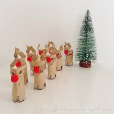 goodyfoodies christmas crafts how to make rudolph reindeers