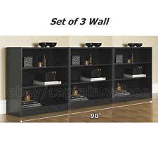 Mainstays 3 Shelf Bookcase Modern Bookcases Ebay