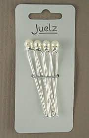 pearl hair pins set of 4 faux pearl hair pins co uk beauty