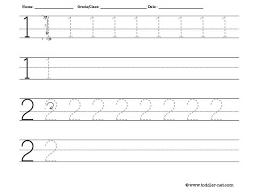 tracing numbers 1 20 worksheets worksheets