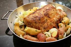 grilled pork rib roast recipe