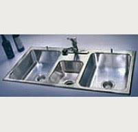 3 bay stainless steel sink 3 compartment kitchen sink modern commercial sinks just mfg