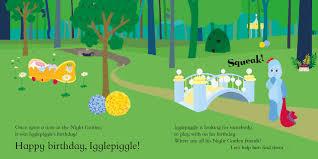 night garden igglepiggle u0027s birthday surprise amazon uk