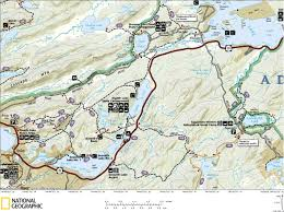 Squaw Trail Map Moose River Plains Wild Forest