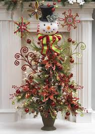 86 best snowman tree topper images on