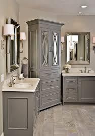 Gray Vanity Bathroom Best 25 Grey Bathroom Cabinets Ideas On Pinterest Grey Bathroom