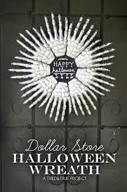 halloween wreath skeleton hands halloween wreath tried true