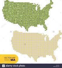 Usa Map Vector by Vector Dotted Map Of Usa Stock Vector Art U0026 Illustration Vector