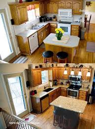 kitchen island makeover the easy peasy way for non carpenters