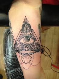 evil eye finger tattoo the all seeing eye the symbol of the illuminati the concept that