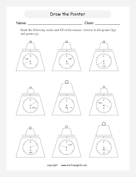reading scales and measure the mass indicated great math