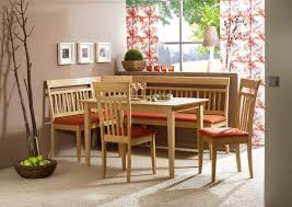 Sturdy Corner Bench Kitchen Table Sets Natural Maple Side Chairs - Kitchen table cushions
