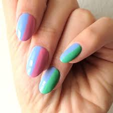 two toned nails alles by anita