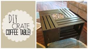 diy crate coffee table veda day 3 youtube