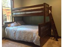 B XL Twin Over Queen Bunk Bed The Bunk  Loft Factory - Twin xl bunk bed