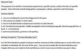 literacy mrs baughan s grade 6 website